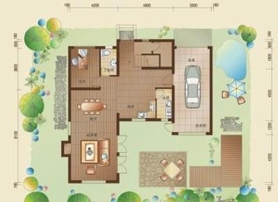 农村四室一厅一楼设计图展示图片