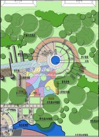 鸿业兴园 实景图 园林规划