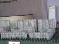 新龙城 实景图 沙盘