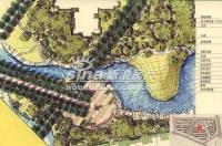 百旺茉莉园 实景图 手绘规划