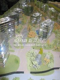 上第MOMA 实景图 房屋模型