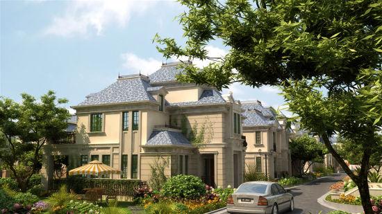 法式奢华独栋别墅外观