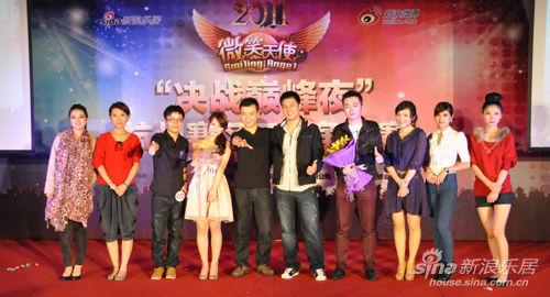 杭州驺jm�g����j�h�_2011年微笑天使杭州赛区三强争霸赛完美落幕