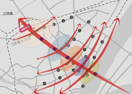 首义广场手绘地图