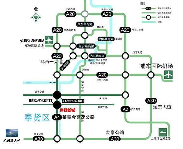 南桥新城规划图