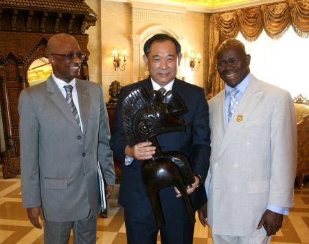 中国世界和平基金会把脉民间外交新动向