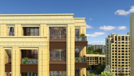 新古典建筑石材10万方全物业干挂(组图)风格通电话别墅大理感图片