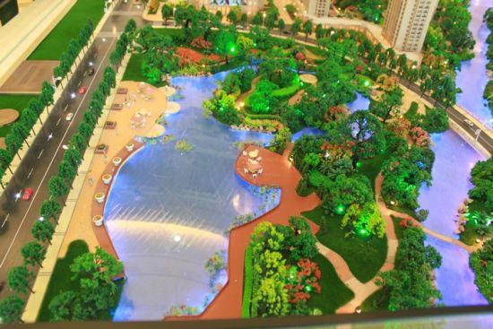 图为水景公园