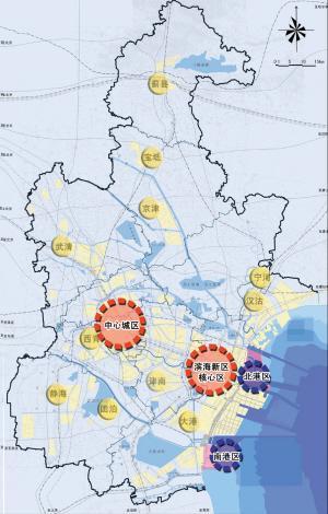 依托京津冀,服务环渤海,面向东北亚,用区域和国际视野,着眼天津未来图片