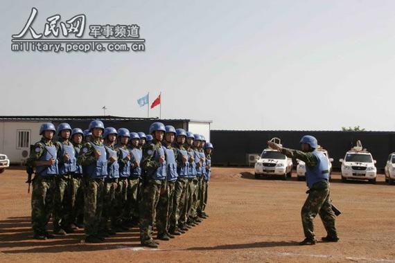 美评中日印军力:称中国在苏丹维和是军事扩张