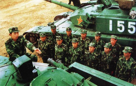 解放军新兵信息技术能手走上关键岗位(图)