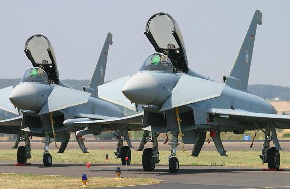 德国台风战机将执行警戒任务目前已接收40架