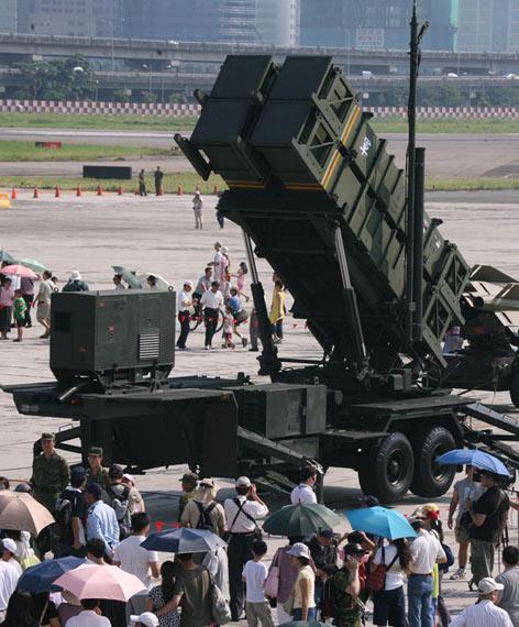 资料图:美国要帮台军升级爱国者-2防空导弹