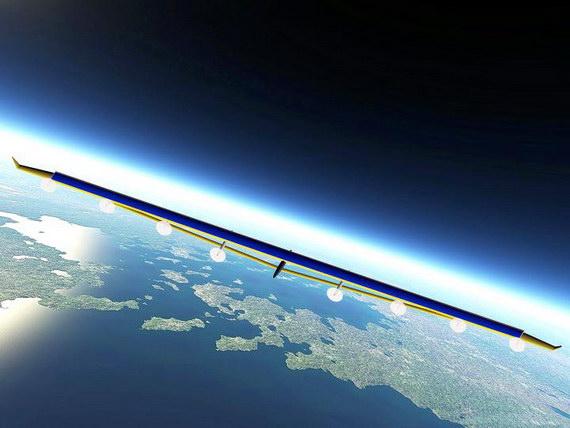 """""""秃鹫""""临近空间超高航时无人飞行器。"""