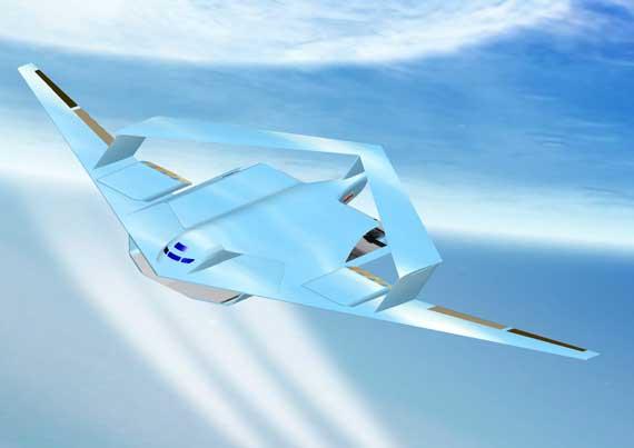 翔云号未来空战系统机