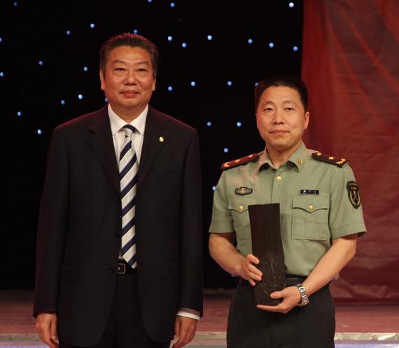 杨利伟月桂特别奖