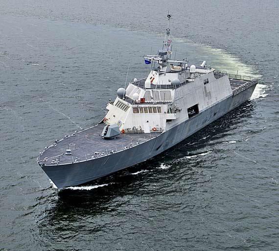 美国海军拟购超过64艘滨海战斗舰打击海盗(图)
