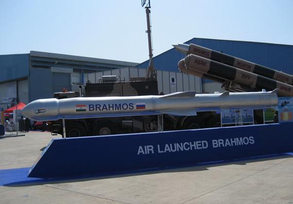 资料图:印俄联合研制的布拉莫斯巡航导弹