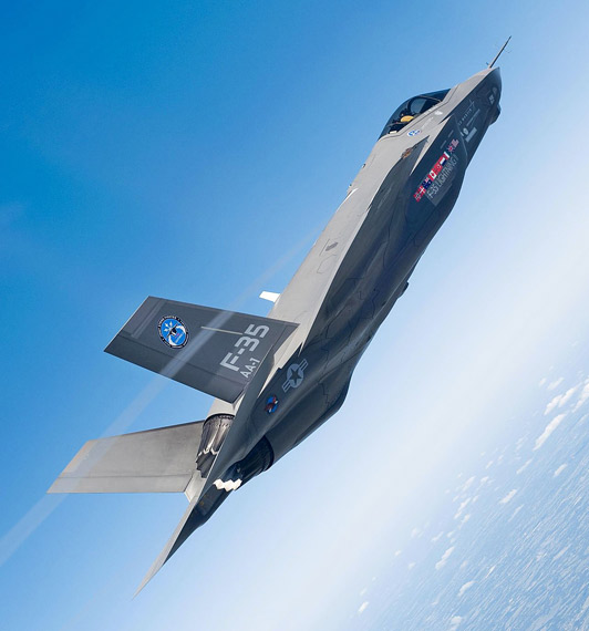 China in the future there will be around a large number of F-35 fighters appeared