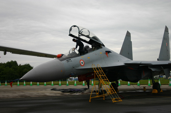 Data for: Indian Air Force fielded the Su-30MKI fighters