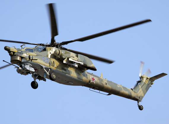 India said Miri's Mi-28 helicopter did not meet the requirements