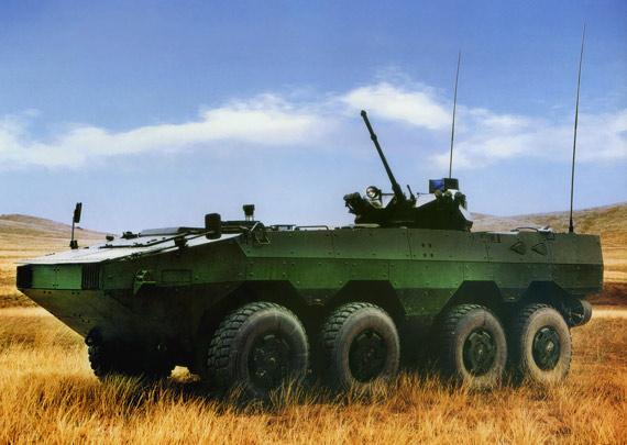 北方工业公司研制的VN1型轮式步兵战车
