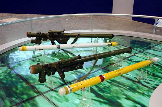 国产前卫系列便携式防空导弹