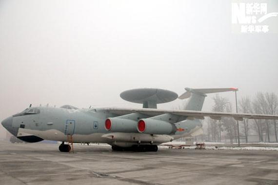 空警2000预警机。新华军事记者杨雷摄