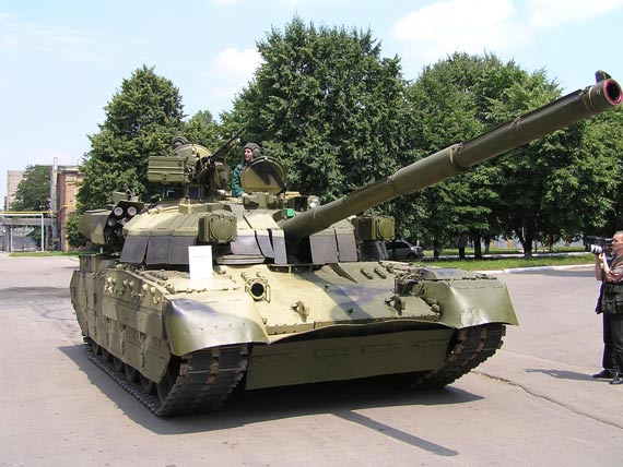 """乌克兰目前还在就提供最新型的T-84""""堡垒""""坦克与伊拉克进行谈判"""
