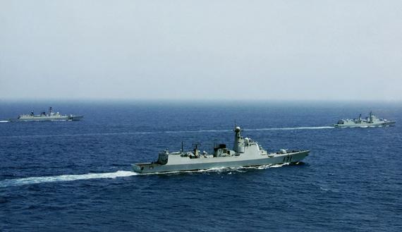 文章称,在海军装备自给率上,印度海军与中国海军相比差距悬殊