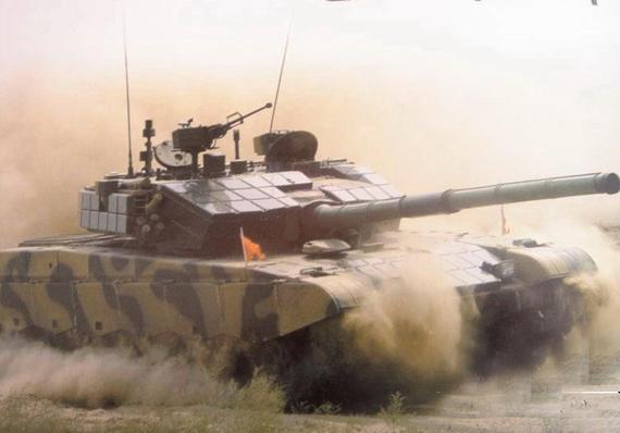 国产最新型99A2增强型主战坦克