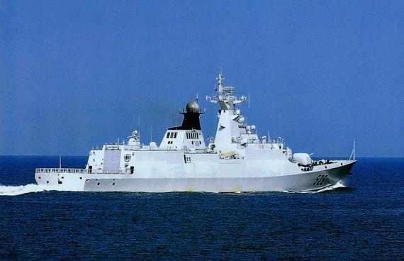 资料图:中国海军526温州号导弹护卫舰