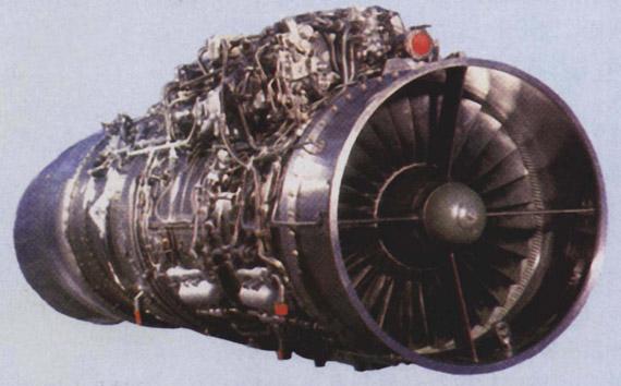 俄制RD-33航空发动机