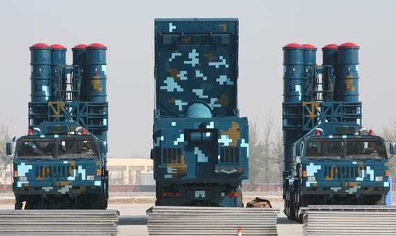 国产红旗9A防空系统
