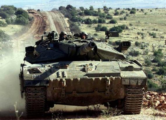 以色列梅卡瓦MK-3型主战坦克