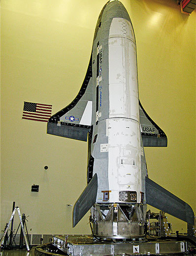 X-37B was developed by the U.S. Air Force spent 10 years of a space plane