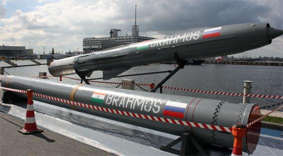 俄印联合研制的布拉莫斯巡航导弹