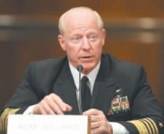 美国太平洋司令部司令罗伯特•威拉德