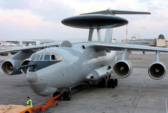 资料图:印度订购的俄罗斯A-50EI预警机