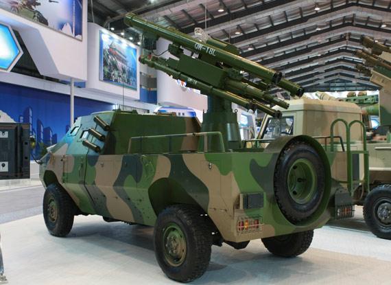 国产FL-9车载末端防空导弹武器系统 摄影:门广阔