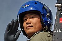 八一飞行表演队队长曹振上校