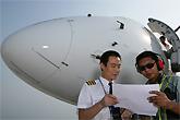 天航飞行员与机务交流