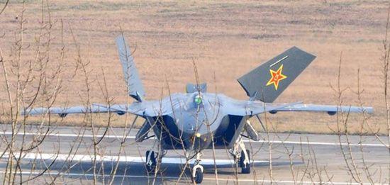 **称中国J20战机配国产发动机无法超音速巡航