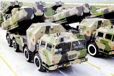 国庆60周年阅兵式上的巡航导弹