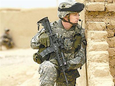 美军数字化战斗服