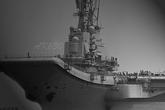 瓦良格舰岛基本完成