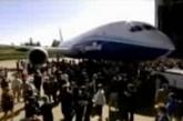 """波音787""""梦想""""飞机正式亮相"""