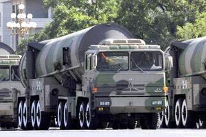 中国东风-31A弹道导弹