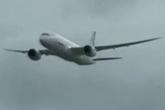 波音787范堡罗航展空中飞行展示