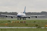 南航首架A380测试飞行